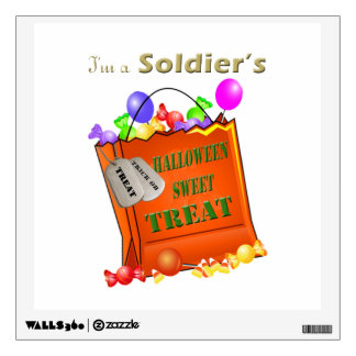 I'm a Soldier's Halloween Sweet Treat Wall Decor