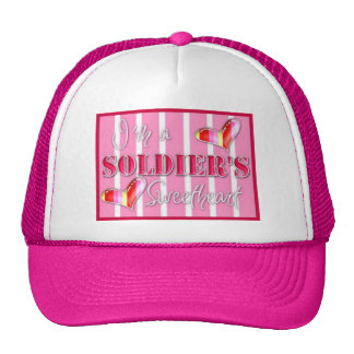 """I'm A Soldiers Sweetheart"" Trucker Hat"