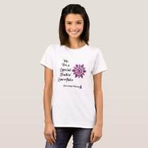 I'm a Special F'ing Snowflake Sarcoidosis Warrior T-Shirt