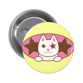 I'm a STAR CAT so cute! 2 Inch Round Button