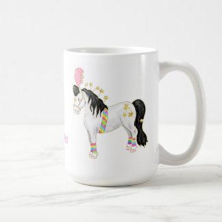 I'm a star - little circus pony classic white coffee mug