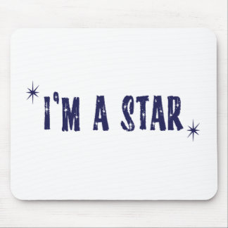 I'm a star mouse pad