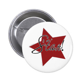 I'm a Star! Pinback Buttons