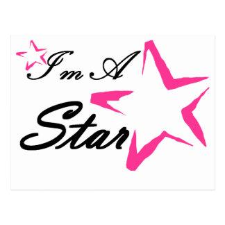 I'm A Star Postcard