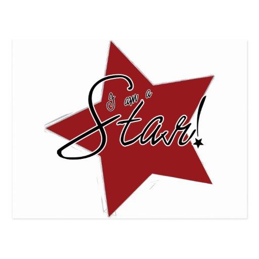 I'm a Star! Postcard