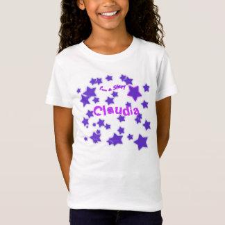 I'm a Star! Purple & Pink Starry Shirt