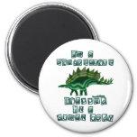 I'm a Stegosaurus 2 Inch Round Magnet