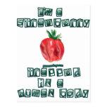 I'm a Strawberry ... Postcard