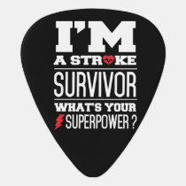 I'm A Stroke Survivor. What's Your Superpower? Guitar Pick