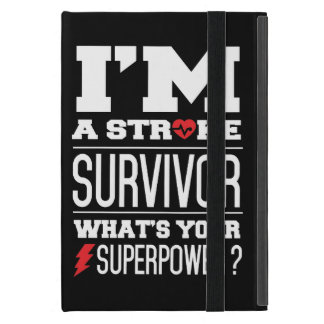 I'm A Stroke Survivor. What's Your Superpower? Covers For iPad Mini