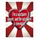 I'm a substance abuser... flyer design
