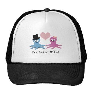 I'm a sucker for you! Cute Octopi Trucker Hat