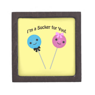 I'm a sucker for you! gift box