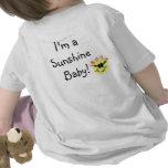 I'm a Sunshine Baby! White Tshirt