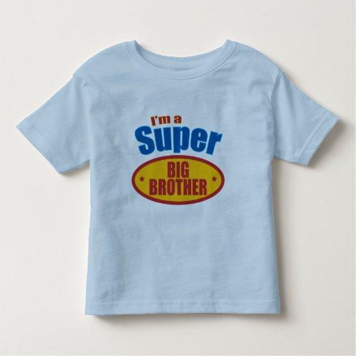 I'm a Super Big Brother Toddler T-shirt
