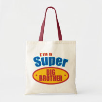I'm a Super Big Brother Tote Bag