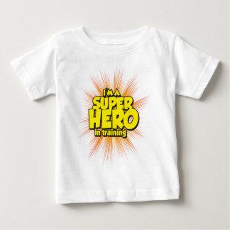 I'M A SUPERHERO in training Infant T-shirt