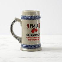 I'm A Survivor Beer Stein