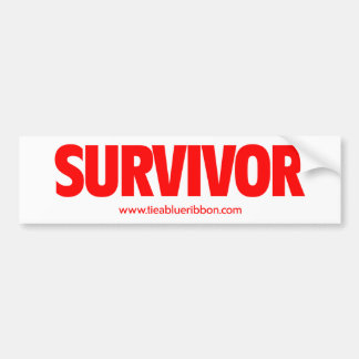 I'm a Survivor Bumper Sticker
