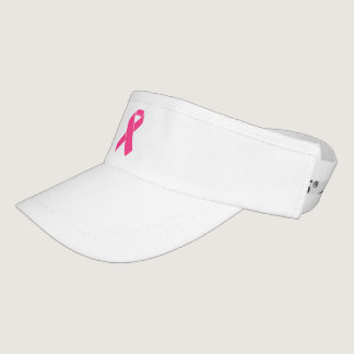 Im a survivor cancer visor with pink ribbon