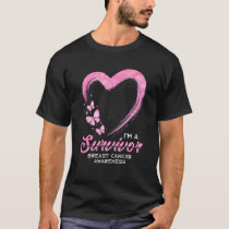 Im a Survivor Chemo Therapy Hero Cancer Prevention T-Shirt