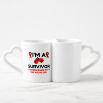I'm A Survivor Coffee Mug Set
