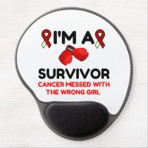 I'm A Survivor Gel Mouse Pad