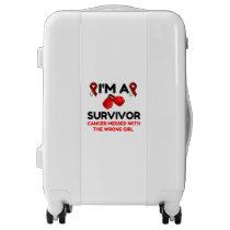 I'm A Survivor Luggage