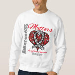 I'm A Survivor - Lung Cancer Awareness Matters Sweatshirt