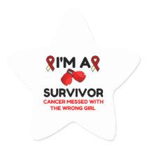 I'm A Survivor Star Sticker