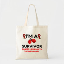 I'm A Survivor Tote Bag