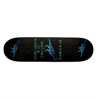 I'm a T-Rex Skateboard Deck
