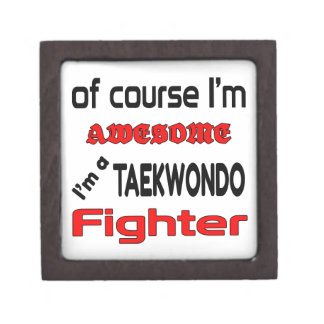 I'm a Taekwondo Fighter Gift Box