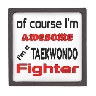 I'm a Taekwondo Fighter Jewelry Box