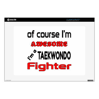 I'm a Taekwondo Fighter Laptop Decal