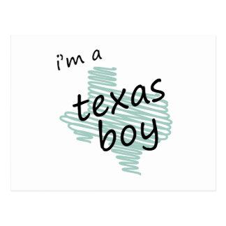 I'm a Texas Boy Postcard