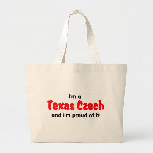 I'm a Texas Czech - T shirt Jumbo Tote Bag