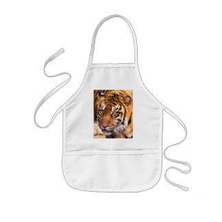 I'm a Tigar_Apron_by Elenne Kids' Apron