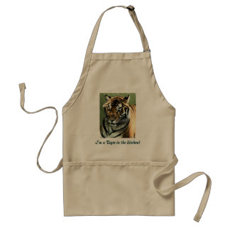 I'm a Tiger in the kitchen! Adult Apron