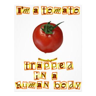 I'm a Tomato . . . Letterhead Design