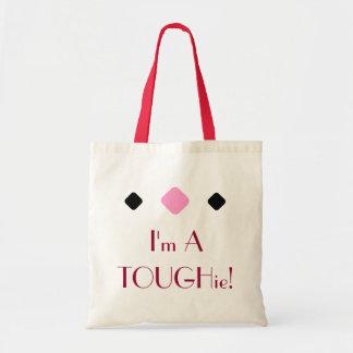 I'm A TOUGHie tote bag