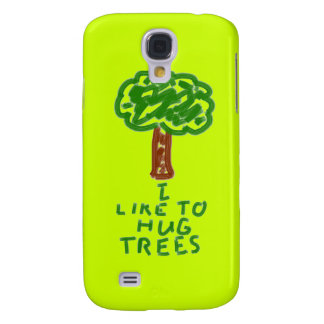 I'm a Tree Hugger Galaxy S4 Cover