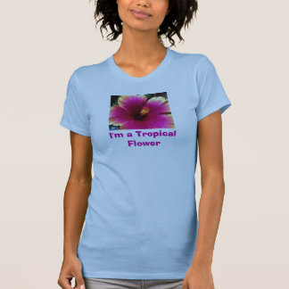 I'm a Tropical Flower tank top