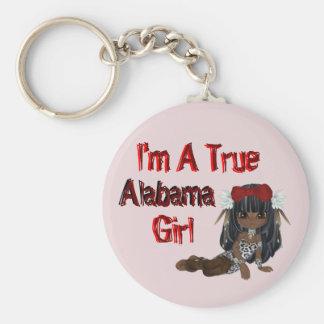 I'm A True Alabama Girl Key Chain