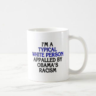 I'm a 'typical white person' appalled by... classic white coffee mug