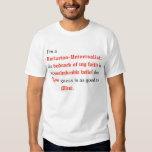 I'm a Unitarian Universalist Tee Shirt