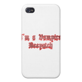 I'm a Vampire, Beeyotch iPhone 4 Case
