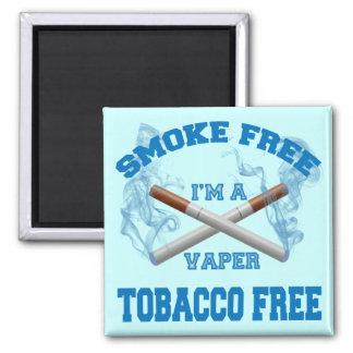 I'M A VAPER SMOKE FREE TOBACCO FREE MAGNET