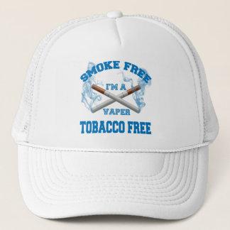 I'M A VAPER SMOKE FREE TOBACCO FREE TRUCKER HAT