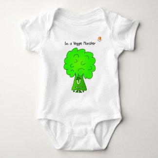 I'm a Veggie Monster Infant Bodysuit